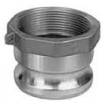 "4"" Stainless Steel Male Adapter Part A"