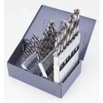 "1/16""-1/2"" X 1/64ths HSS Drill Jobbers Set 29PC"