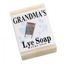 Grandma's Pure & Natural Lye Soap Regular Bar 6OZ