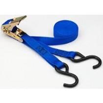 "1"" X 16' Ratchet Tie Down Strap w/S Hook"