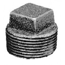 "1"" Blk 150# MI Plug Square Head"