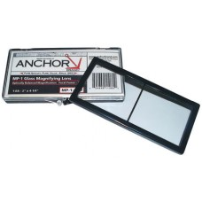 Anchor Brand Magnifiers 1.25 Optical 2X4 1/4 Lens