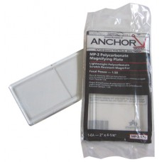 Anchor Brand Magnifiers 0.75 Optical 2X4 1/4 Lens