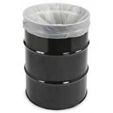 """55 Gal Clear Heavy Duty Trash Bag 38""""x 63"""" 3MIL (50/RL)"""