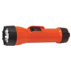 Bright Star Worksafe 2D Cell Intrinsically Safe Orange Flashlight