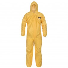 ChemMax 1 Yellow Chemical Coverall 2XL 25/CS