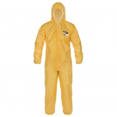 ChemMax 1 Yellow Chemical Coverall 3XL 6/CS SS