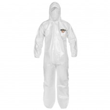 ChemMax 2 (C44428) Bound Seam Coverall, Hood, Elastic Wrist/Ankle, 3X-Large, 12/CS