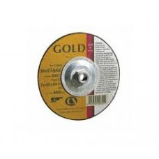 "Carb Gold AO T27 4-1/2"" x 1/4"" x 5/8""-11 Grinding Wheel"