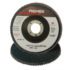 Carb Premier Red ZA T27 60G 4-1/2 x 7/8 Flap Disc