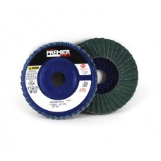 "Carborundum Premier Red ZA T27 4-1/2"" X 5/8""-11 Flap Disc 60G"