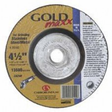 Carb Gold Maxx T27 4-1/2 X 1/4 X 5/8-11 Grinding Wheel