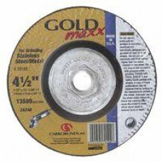 "Carb Gold Maxx T27 4-1/2"" X 1/8"" X 5/8""-11 Grinding Wheel"