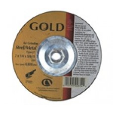 Carb Gold Maxx T27 5 X 1/8 X 7/8 Grinding Wheel