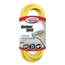 CCI Woods 12/3 Extension Cord 15A 300V 25 FT