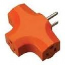 CCI Woods Tri-Tap 3-Way Adapter Orange