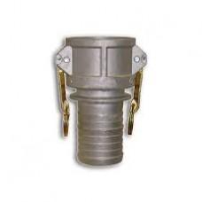 Aluminum Part C Coupler X Hose Shank Camlock 1-1/2