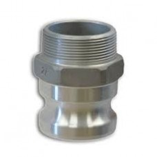 Aluminum Part F Adapter X Male NPT Camlock 3