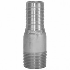 "1-1/4"" Threaded Combination Aluminum Nipple"