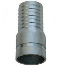 """1-1/4"""" Grooved Combination Steel Nipple"""