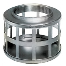 """6"""" NPSM Square Hole Steel Strainer"""