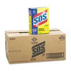 SOS Steel Wool Soap Pads 15 Pads/BX