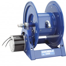 Coxreels 1125PCL-8M-EB 24V DC 1/2HP Motorized Hose Reel 12 AWGx250ft no cord