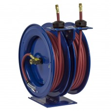 Coxreels C-HP-125-125 Dual Purpose Spring Driven Hose Reel 1/4inx25ft 5000PSI