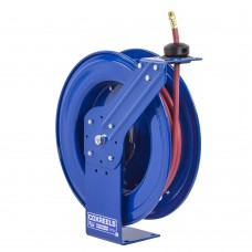 Coxreels SH-N-350 Heavy Duty Spring Driven Hose Reel 3/8inx50ft 300PSI