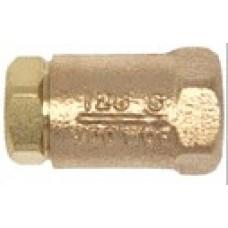 """Dixon Ball Cone Check Valve Brass FNPT X FNPT 1-1/4"""""""