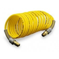 "Dixon Self Coiling Air Hose - 1/2"" X 25 FT Long"