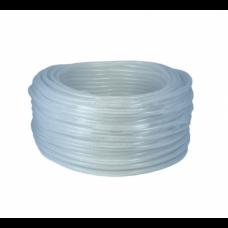 "Dixon 1/4"" ID X 1/2"" OD Clear Braided PVC Tubing IMP"