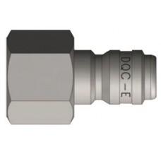 """DQC 1"""" x 1"""" FNPT Steel E-Series S.T. Nipple"""