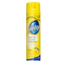 Pledge Furniture Polish Lemon Scent 9.7 oz. (New Part Number 671301)