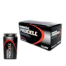 Duracell Procell Batteries 9 Volt Battery 12/BX
