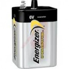Energizer Industrial Alkaline Battery - 6V Spring Top