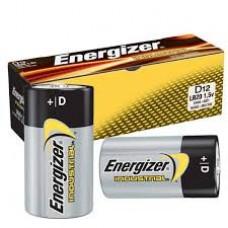 Energizer Industrial Alkaline Battery - D - 12/BX