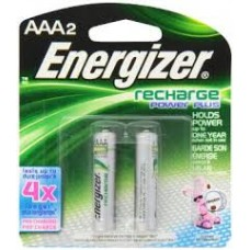 Energizer Rechargeable Battery - 2 Pack AAA