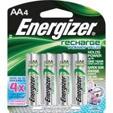 Energizer Rechargeable Battery - 4 Pack AA