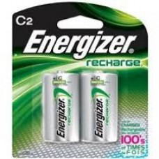 Energizer Rechargeable Battery - 2 Pack C