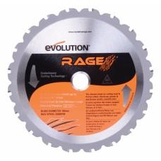 """Evolution 14"""" Multi-Purpose Chop Saw Blade 36T 1400 Max RPM"""