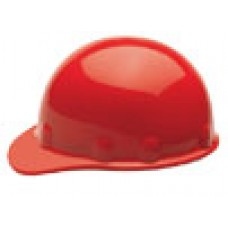 Fibre-Metal Cap Hard Hat w/ 3-R Ratchet RED