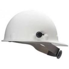 Fibre-Metal Cap Style Fiberglass Hard Hat 3-R Ratchet White