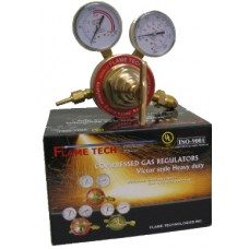 Flametech Victor Heavy Duty Acetylene Regulator