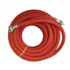 "Goodyear 3/4"" X 50' Red Jackhammer Hose 150 PSI w/CF EE"