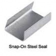 "Gulf Packaging 1-1/4"" Snap-On Steel Seal 1000/BX"