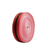 "Harris Poly Woven Red Barricade Tape 2""x 200'"