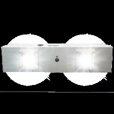 Puro Helo F2 Disinfecting Fixture Dual UV Light Engine, 6ft Plug, Manually or BACnet, 110V