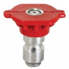 "1/4"" Quick Connect Spray Nozzle Red 0D Size 5"