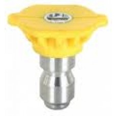 "1/4"" Quick Connect Spray Nozzle Yellow 15D Size 5"